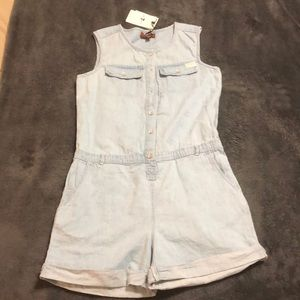 Free for all mankind girls romper. NWT oversized